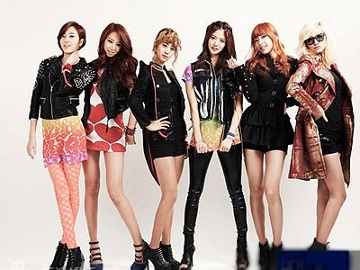 韩国推新女子团体 长腿摇滚来势汹汹