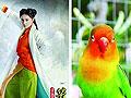 《笑傲江湖》曝定妆照网友称造型师是鸟类控