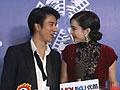 北京电影节开幕范冰冰喂王力宏口香糖