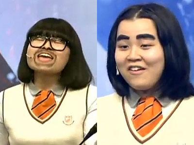 韩国达人秀表情帝激情演绎《灰姑娘》