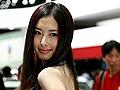 翟凌惊艳2011郑州国际车展接受新浪河南视频专访