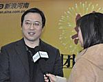 新浪河南总经理冯林辉会前采访