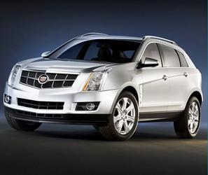 郑州国际车展凯迪拉克2011款SRX