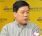 新浪河南专访郑州文化艺术品交易所CEO张保盈