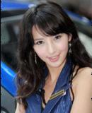 酷似林志玲的韩国车模