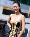 韩国顶级赛车模特