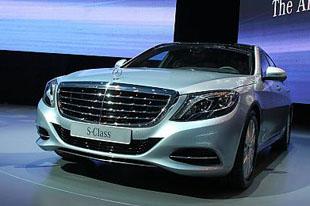 奔驰全新S级轿车郑州上市
