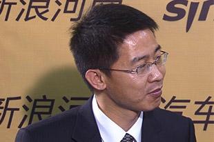 新浪河南专访广汽传祺华中区经理李永峰