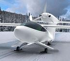 三栖飞机可雪地滑行