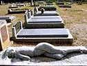 搞怪的老外墓碑