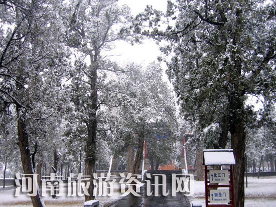 登封 中岳庙景区 雪景 2009