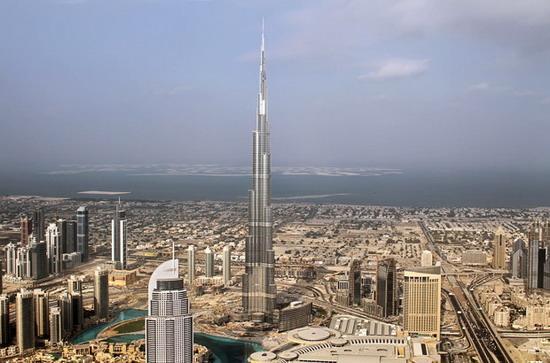 世界第一高楼迪拜塔今将举办竣工典礼(图)