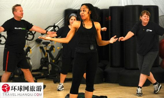 想减肥跟我走 走进美国减肥王训练营