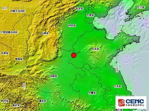 图据中国地震台网中心网站