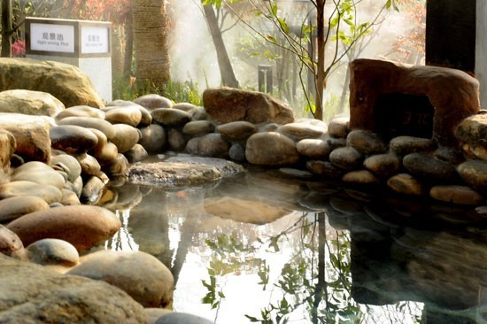 龙陵老梨树温泉