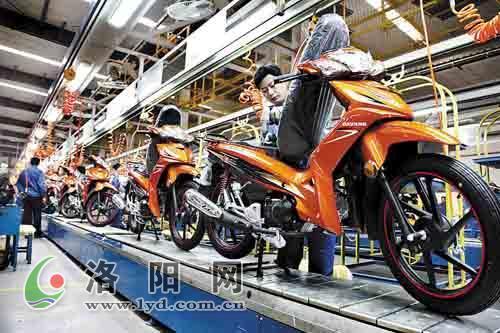 大阳摩托投产20年产量1100万辆,上缴利税30多亿元图片