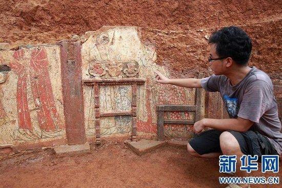 南北宋古墓墓室结构图片