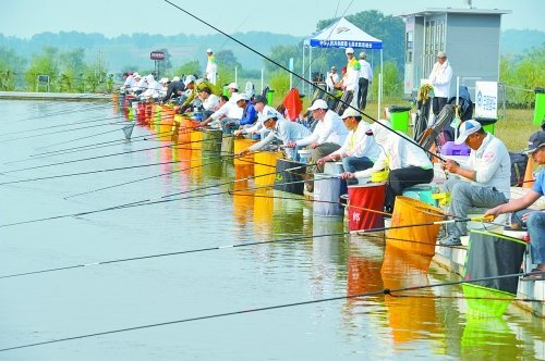 第七届农运会钓鱼比赛