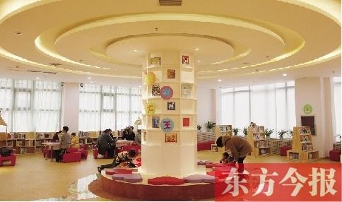 河南省第一家省级少年儿童图书馆郑州市落成图片