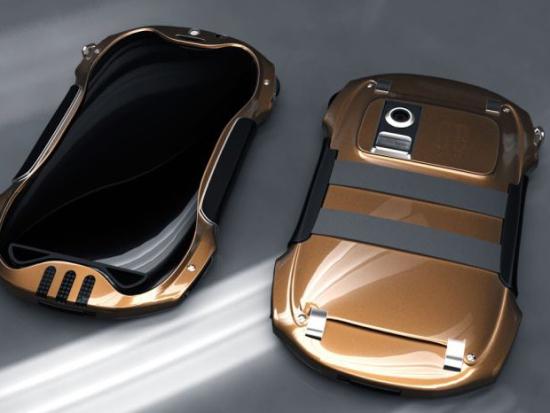 概念设计 法拉利跑车外形wp8手机高清图片