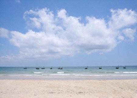 北海银滩--童话里的海滨