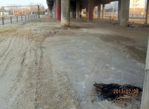 2月9日,媒体称庞洪理栖身立交桥下的位置