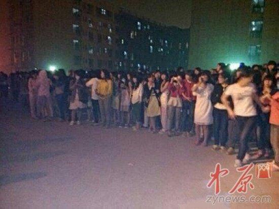 河南大学民生学院女生宿舍凌晨着火