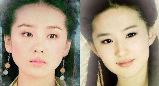 刘亦菲刘诗诗 盘点80后女星如流水线般的撞脸