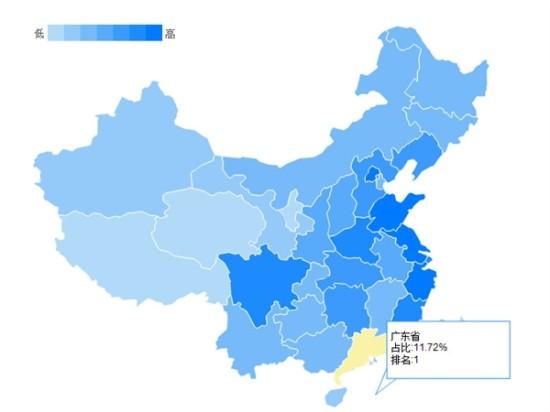 广东省,江苏省