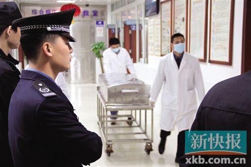 警方证实邓姓押钞员确系被走火的枪支击中,不幸遇难。 新快报记者 曾泓/摄