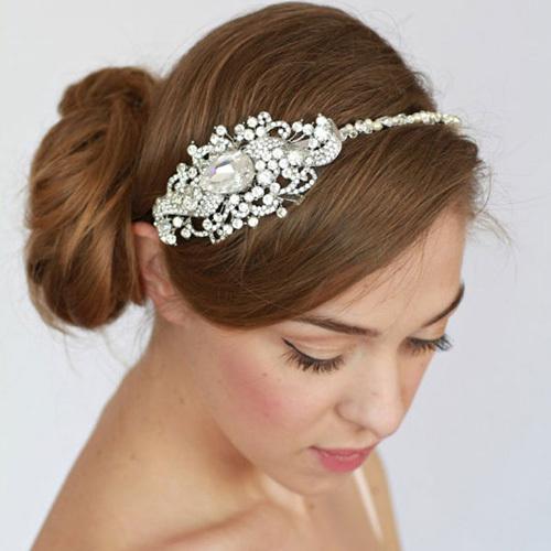 新娘头饰制作视频_所以用这些材质制作的珠宝头饰比较适合个性张扬活跃的新娘.