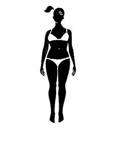 s型身材女性女性手绘