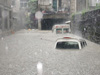 四川暴雨大水淹城