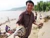 黄河沿线万人捕鱼