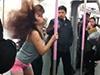 少女地铁跳钢管舞
