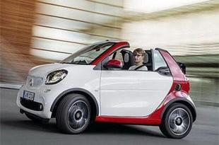 全新巴博斯smart敞篷版 日内瓦车展发布