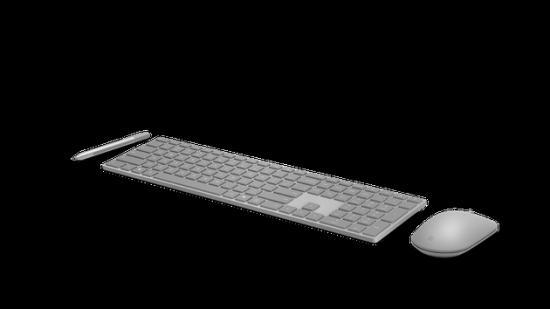 微软国内发布Surface键鼠