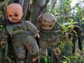 鬼娃娃遍布的玩偶岛