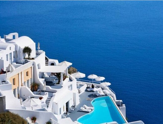 希腊圣托里尼——Katikies Hote