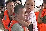 三十九人被困洛河 洛阳消防紧急营救