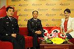 鹤壁市公安局副局长郝军做客新浪河南会客厅