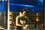实拍盲女厨师做盲菜挑战厨神