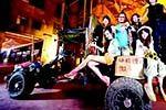 10余名白领驾手扶拖拉机去西藏