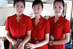 朝鲜高丽航空首次公开客机内景空姐靓丽