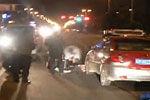监控拍下醉酒男躺马路中间被碾身亡