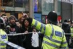 伦敦袭击事件现场