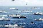 北海舰队远海训练