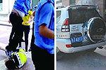 延安民警带人抢豪车 曾借被抢者1千万