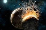 小行星撞击月球