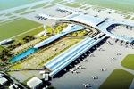 新郑机场二期T2航站楼主体封顶